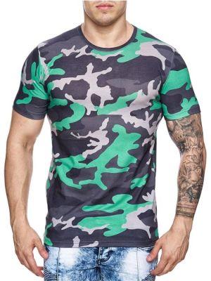 Majica s kratkimi rokavi Army Green