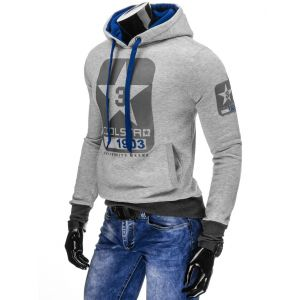 Moški pulover s kapuco CoolStar Grey